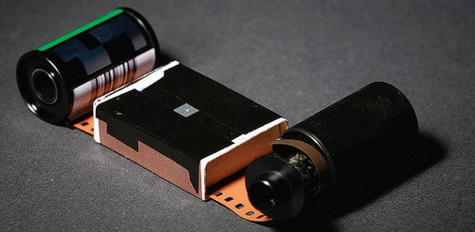 How to put film in the camera