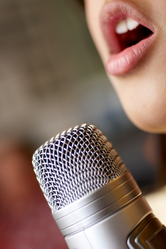 How to put the voice yourself