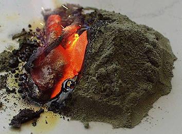 Сера – это горючий химический элемент