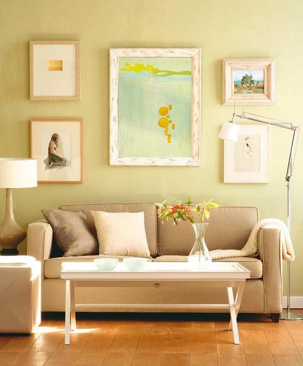 Картины могут украсить абсолютно любую стену