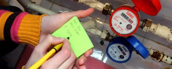 Каждая водопроводная система имеет свой счетчик
