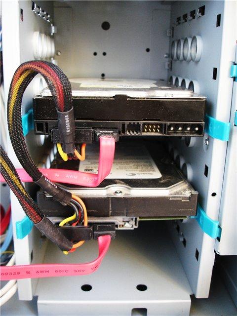 Подключение жёсткого диска