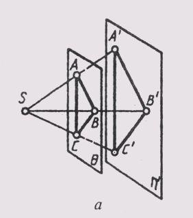 Как построить проекцию