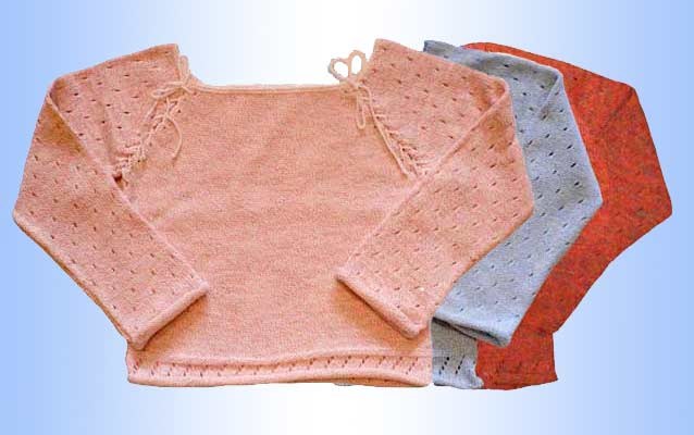 How to knit Raglan knitting