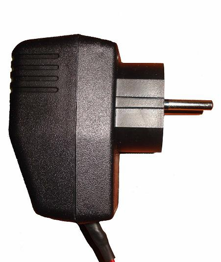 Вилка электропитания роутера