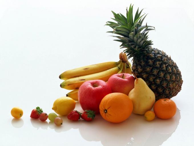 Как подавать фрукты