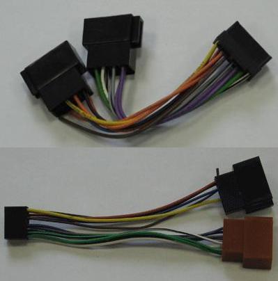 Переходники с оригинальных колодок магнитол на ISO