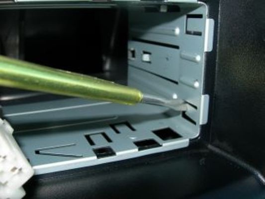 Install the frame into the slot