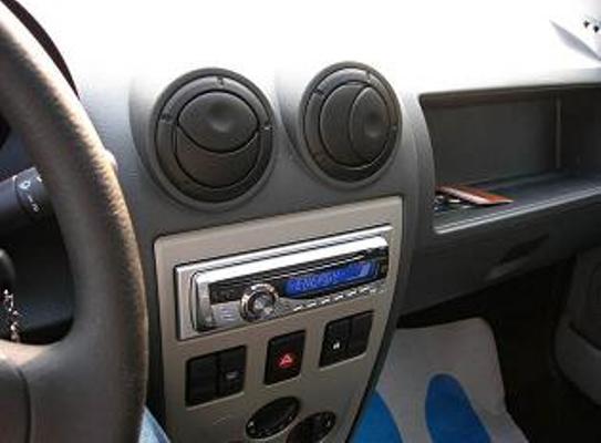 Mounted radio