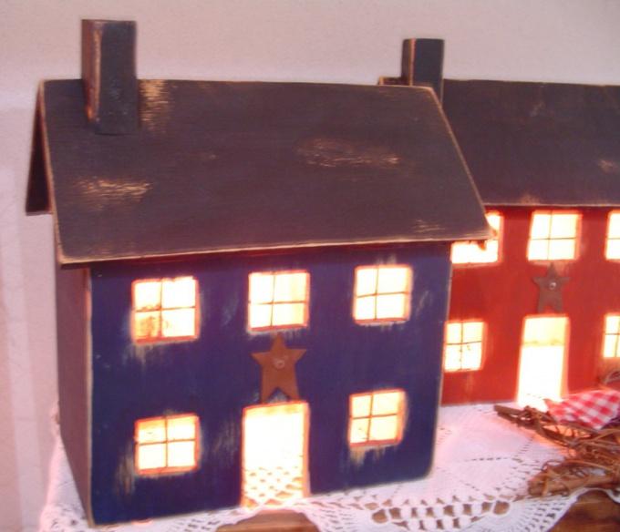 Начните строить город с домиков для строителей