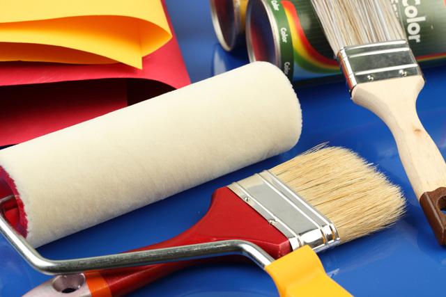 Фактурная краска для стен: фасадная и для внутренней отделки 787