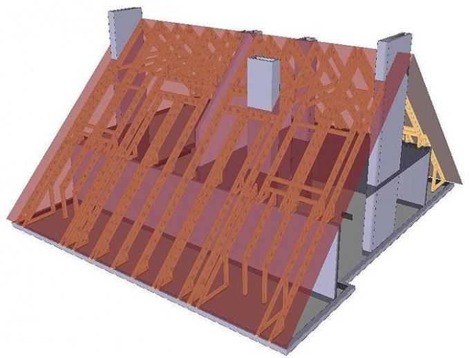 Как рассчитать крышу