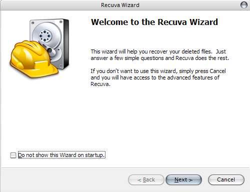 Recuva - комфортная программа стремительно восстановит потерянные файлы