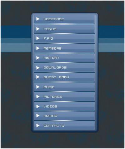 Как создать меню на сайте