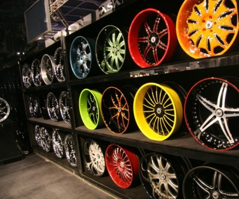 Крашенные колесные диски