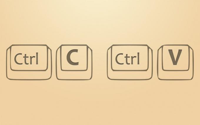 Как копировать в интернете