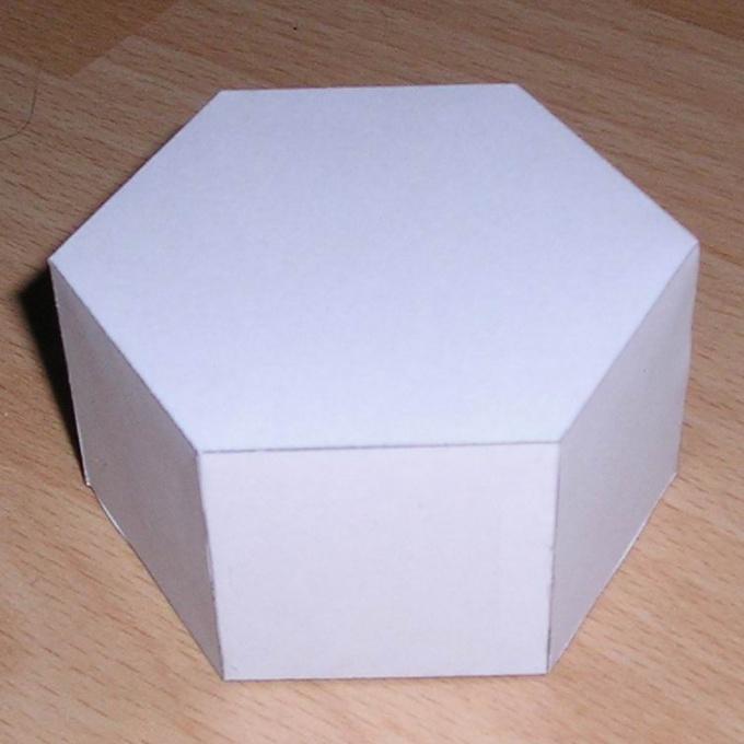 А это бумажный аналог призмы