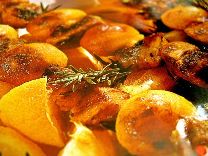 Печеный картофель блюдо вкусное и полезное