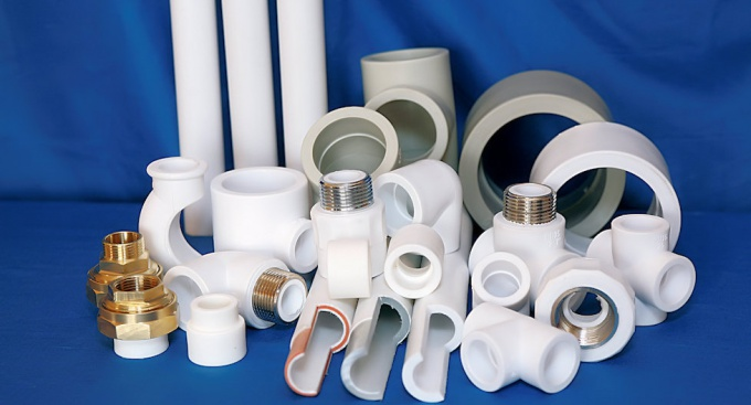 With fittings you can connect even pipes of different diameters