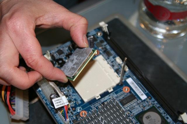 Как поставить процессор