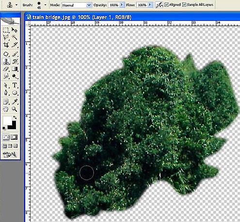 Как вырезать картинки в фотошопе