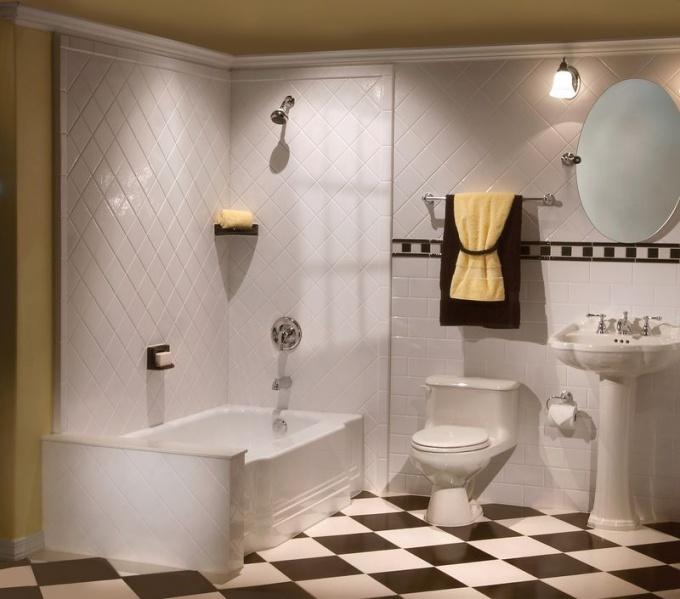 Правильно поставленная ванна служит дольше