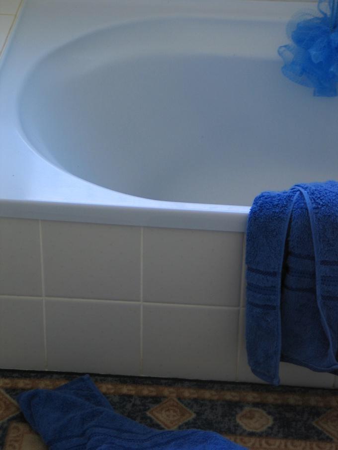 В сухой и проветриваемой ванной комнате плесень не растет