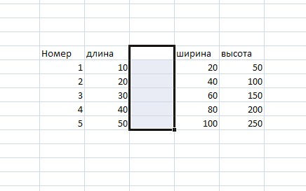 Как добавить <strong>колонку</strong>