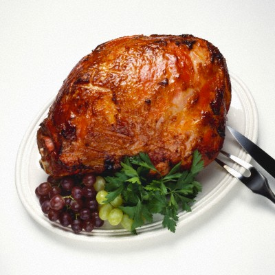 Baked ham can become a worthy decoration of the holiday table.