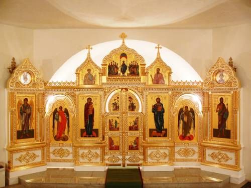 Home iconostasis - a sacred place for your prayers