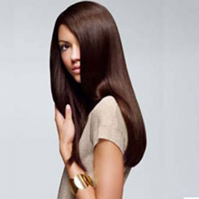 Как сделать <strong>волосы</strong> блестящими