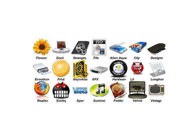 Замена иконок - развлекательный и занимательный процесс