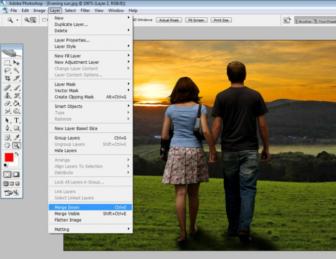 How to change <b>background</b> <strong>photos</strong> <em>photoshop</em>