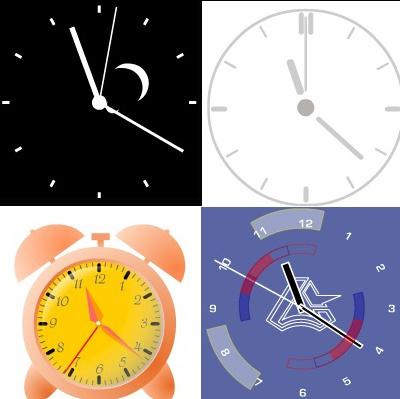 Один из способов «оживить» сайт – поставить на него часы
