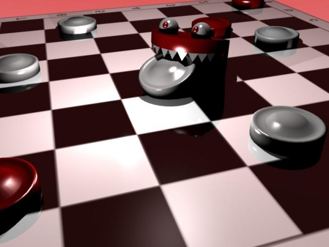Как научиться играть в шашки