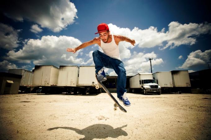 Кататься на скейте не так уж и сложно