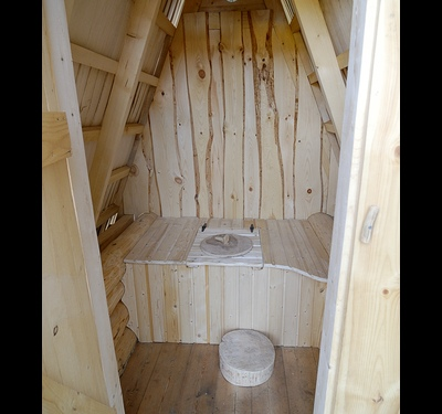 How to build a toilet at dacha with his hands