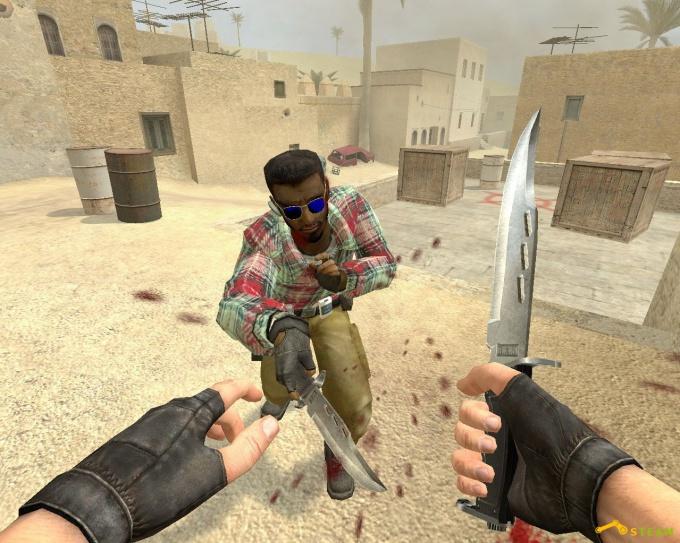 Как играть на ножах