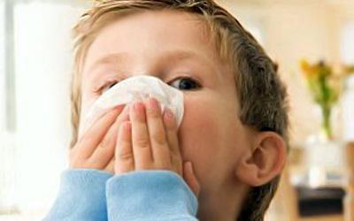 у ребенка пошла кровь из носа