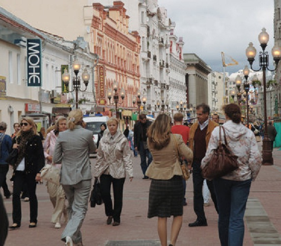 How to dress in Moscow