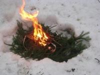 Как выжить в <strong>лесу</strong> <b>зимой</b>