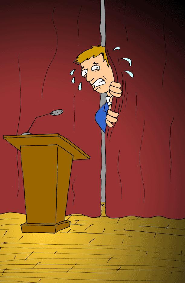 Подготавливайте свою речь тщательно, чтобы не было стыдно выступать на публике