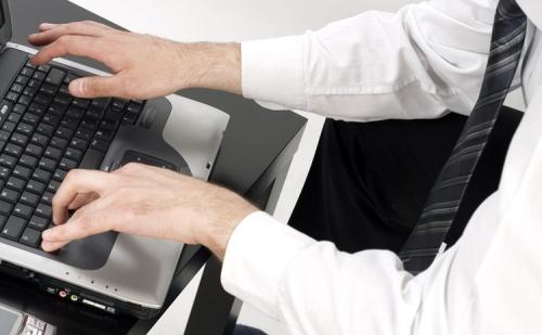 Как набирать на компьютере текст