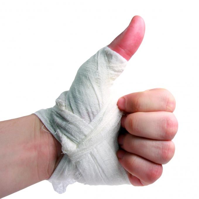 Как наматывать бинты на руки