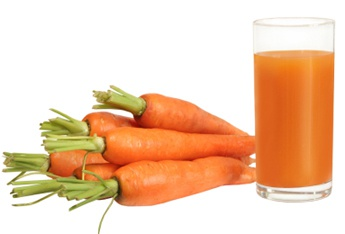 Carrot juice is useful for children and adults.