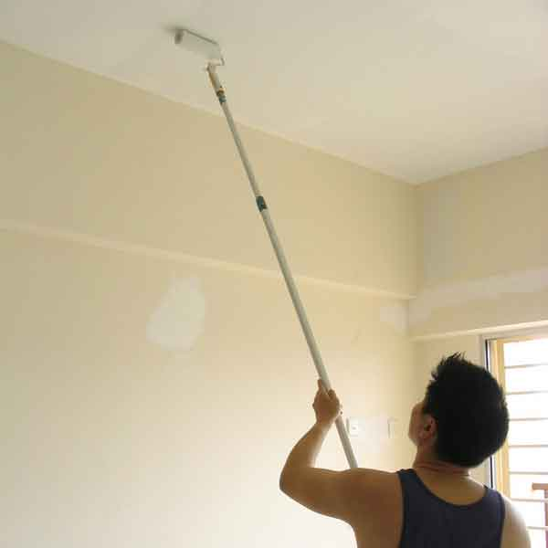 How to prepare the ceiling for painting