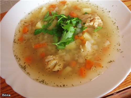 How to cook fisherman's soup