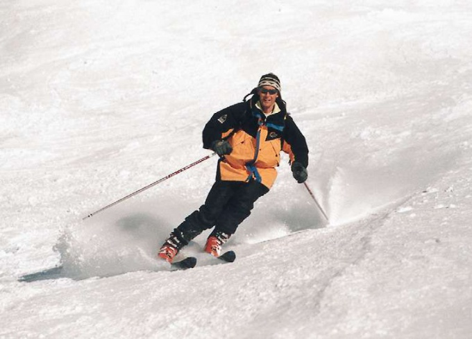 Как обучиться кататься на лыжах
