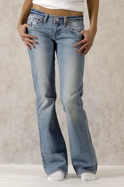 Как отбеливать джинсы