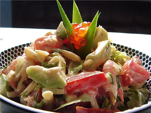 Как готовить салат «Сладкая креветка»